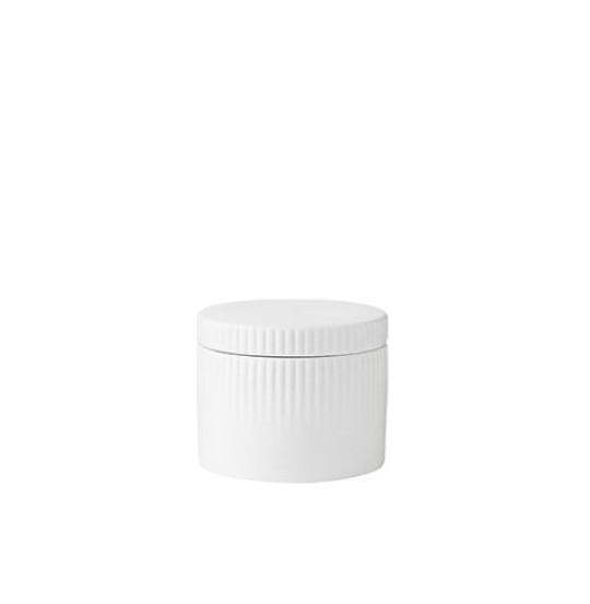 Stelton PLEAT salt kar porcelæn
