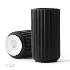 Lyngby Vase H12,5 cm sort