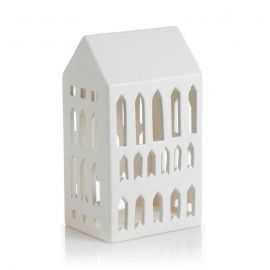 Urbania Lyshus Kirke hvid H18 cm