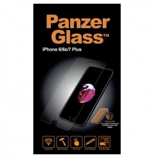 Panzer Tempered Glass iPhone 6/7/8 Plus