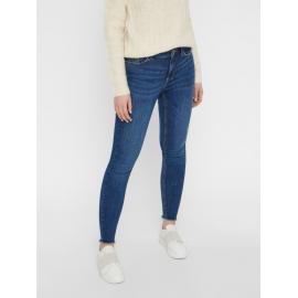 Mid Waist Skinny Fit Jeans