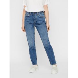 Korte Mid-Rise Jeans