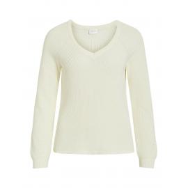 V-Halset Strikket Pullover