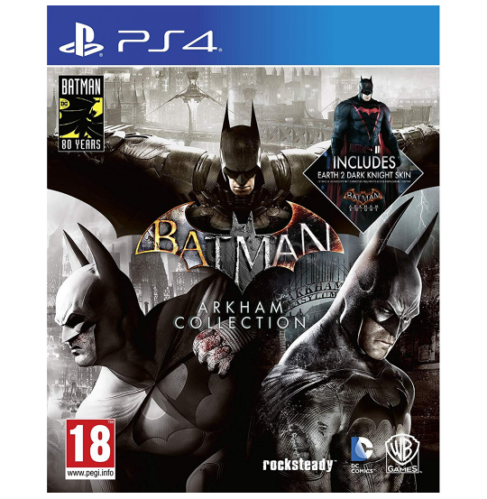 PS4: Batman Arkham Collection
