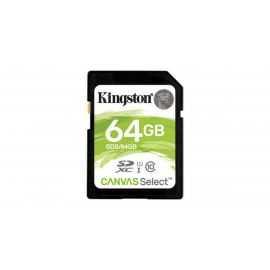 Kingston 64GB SDHC Canvas Select 80R