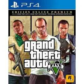 PS4: Grand Theft Auto V (GTA 5) Premium Online
