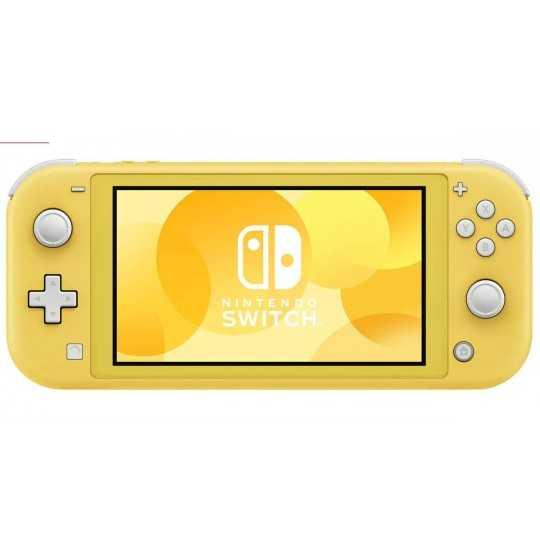 NS: Lite spillekonsol (gul)