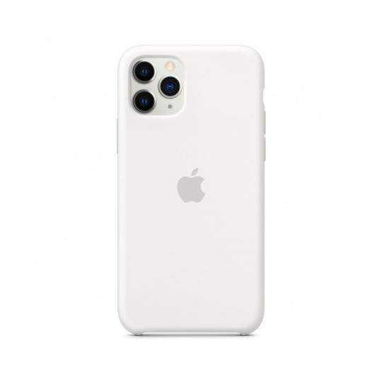 iPhone 11 Pro Silicone case white