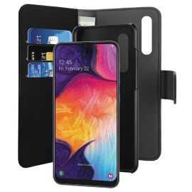 Puro Samsung A50 Aftagelig wallet sort
