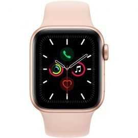Apple Watch 5 40mm gold aluminium/pink