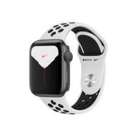 Apple Watch 5 Nike+ 40mm Sølv alu/sort
