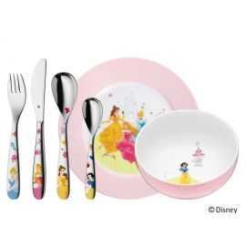 Disney prinsesse bestiksæt 6 dele WMF