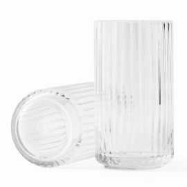 Lyngby Vase H15 klar glas