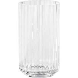 Lyngby Vase H12,5 klar glas