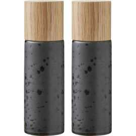 BITZ Salt & Peber 5x16,7 cm sort