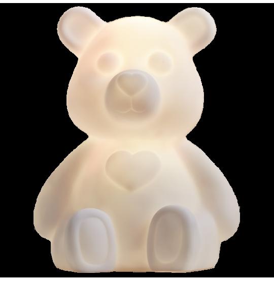 Figurine Polly lys hvid 18x14 cm