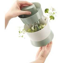 Blomkåls- og broccolisnitter grøn