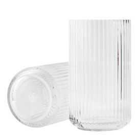 Lyngby Vase H38 klar glas