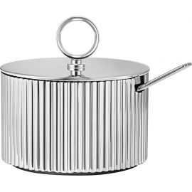 Bernadotte Sukkerskåle m/ske Ø7,9cm stål