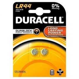 Duracell  LR44 Batteri, 2pk