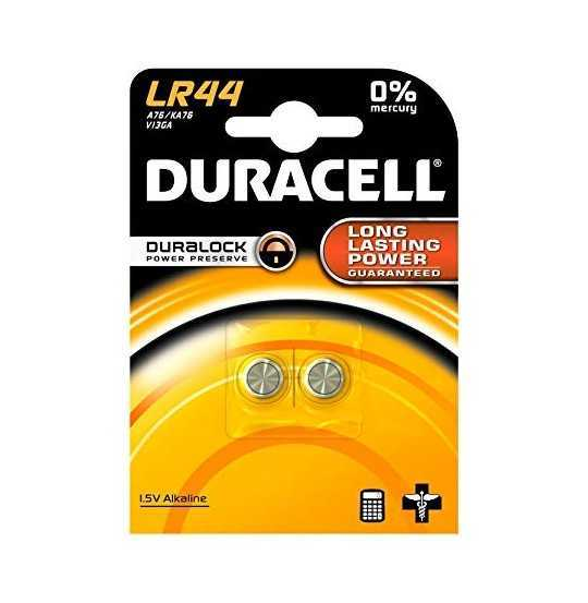 Duracell Electronics LR44 Batteri, 2pk