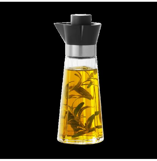 GC Olie- og eddikeflaske H18,5 sort/stål