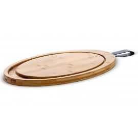 GC Skærebræt oval 47x27 bambus