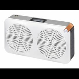 Sandstrøm DAB+/FM Radio SCARIADUBK17E Silver