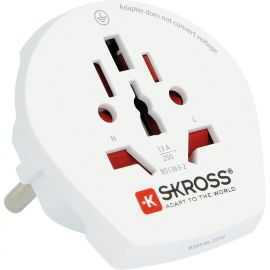 SKross Rejse-Adapter, World to Europe