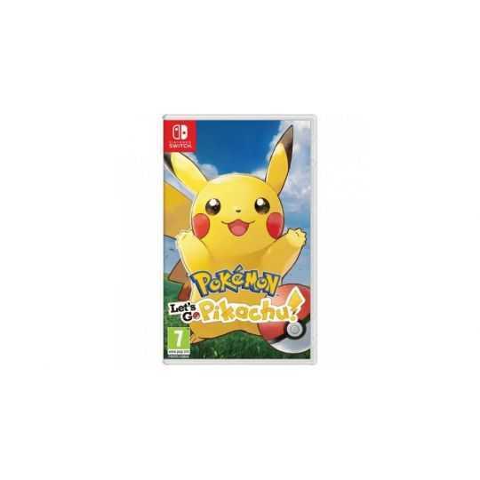 NS: Pokemon: Let's Go, Pikachu!