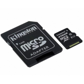 Kingston 256GB microSDHC 80R CL10 UHS-I
