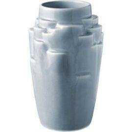 Plateau Vase, lys blå, 17cm