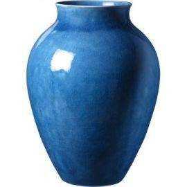 Knabstrup Vase, mørk blå, 12,5cm