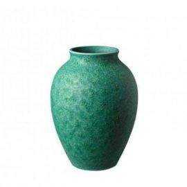 Knabstrup Vase, irgrøn, 12,5cm