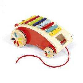 Janod - Xylofon på hjul (5380)