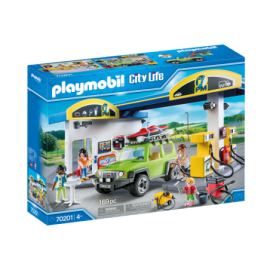 Playmobil - Benzin Tankstation