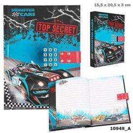 Monster Cars - Dagbog med Kode