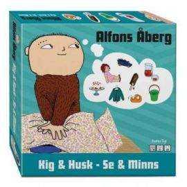 Alfons Åberg - Kig & Husk spil