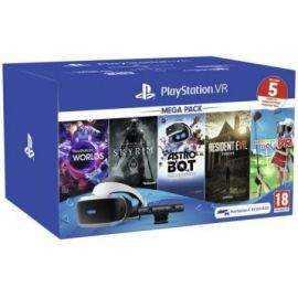PS4: VR Worlds m/kamera og 5 spil