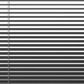 ALU-PERSIENNE 100×160CM GRÅ