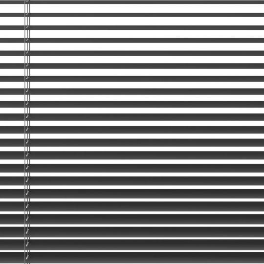 ALU-PERSIENNE 90×220CM GRÅ