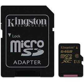 Kingston 64GB microSDHC 90R/45W U3