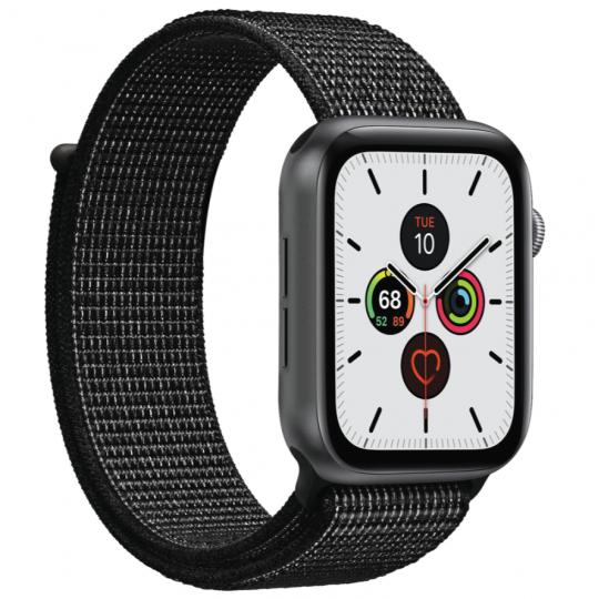 Puro Apple Watch Band, 38-40mm Nylon, Black