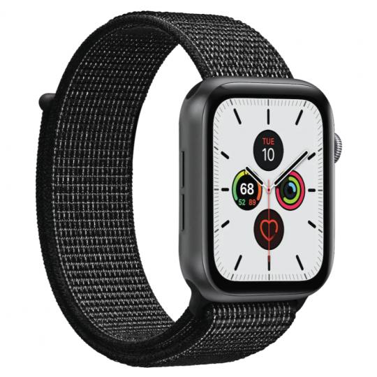 Puro Apple Watch Band, 42-44mm Nylon, Black