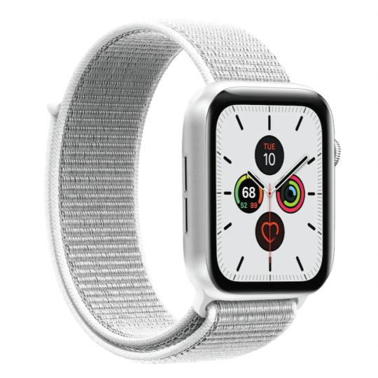 Puro Apple Watch Band, 42-44mm Nylon, White