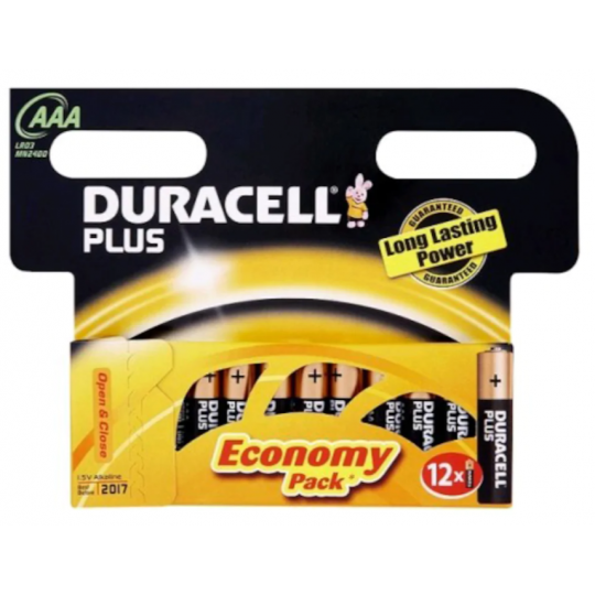 Duracell Plus Power AAA 12pk SO