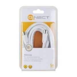 Qnect Antenna cable male-fem 5m