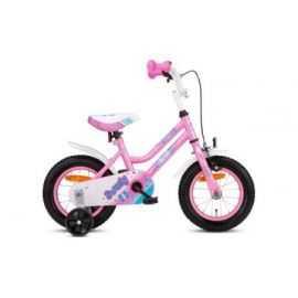 "Pigecykel 12"" lyserød/hvid Sweety"