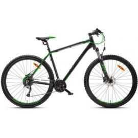 """Mountainbike 26"""" 26.21 21-gear sort/blå/grøn"""