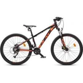 "Mountainbike 26"" 2618 2X9 speed sort/orange"